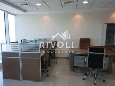 مکتب  للايجار في الخليج التجاري، دبي - Furnished Office near Metro for Rent