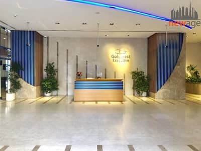 Office for Rent in Jumeirah Lake Towers (JLT), Dubai - Fitted with Glass Partition office for RENT in Goldcrest Executive JLT