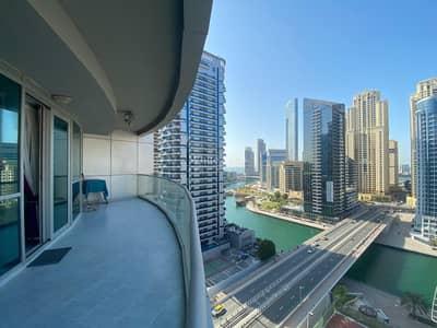 شقة 3 غرف نوم للايجار في دبي مارينا، دبي - Marina Views - Large Balcony - Vacant Now