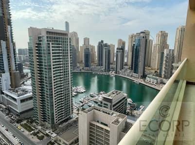شقة 4 غرف نوم للايجار في دبي مارينا، دبي - Marina View | Compelling 4BR+M | High Floor