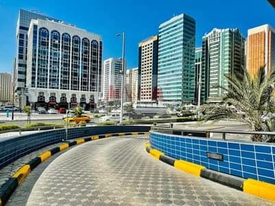 فلیٹ 1 غرفة نوم للايجار في شارع السلام، أبوظبي - EXCELLENT DEAL.: One Bedroom Apartment Balcony & Parking for AED 50