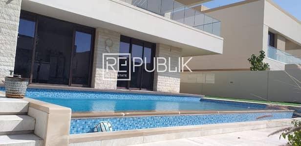 فیلا 5 غرف نوم للايجار في جزيرة السعديات، أبوظبي - Great Type 6 Vacant 5BR Pool and Landscaped Garden
