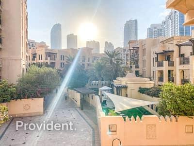 فلیٹ 2 غرفة نوم للايجار في المدينة القديمة، دبي - Spacious Unit|Community View|Well Maintained