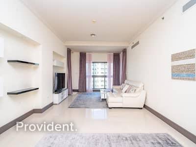 شقة 2 غرفة نوم للبيع في نخلة جميرا، دبي - Vacant | Exclusive | Park View | Fully Furnished