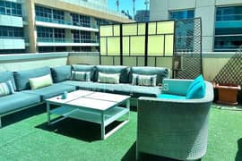Spacious 1 Bedroom | Large Terrace | Unfurnished