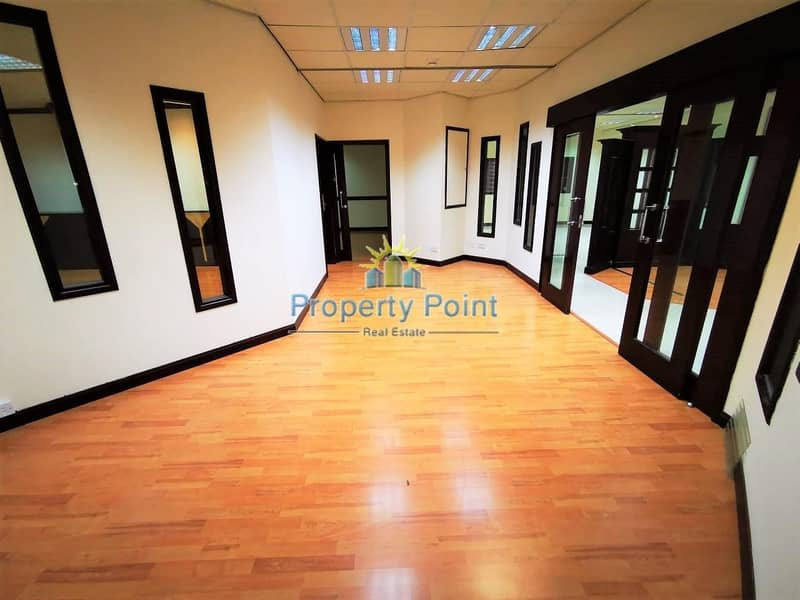 2 225 SQM Fitted Office Space for RENT | Great Location along Hamdan Street