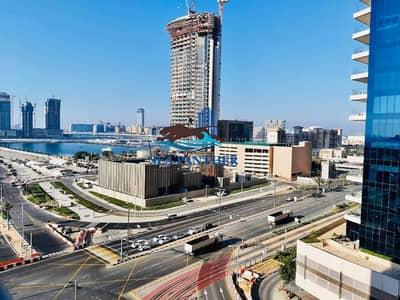 فلیٹ 1 غرفة نوم للايجار في دبي مارينا، دبي - Spacious 1 BR with Full Sea/Palm View