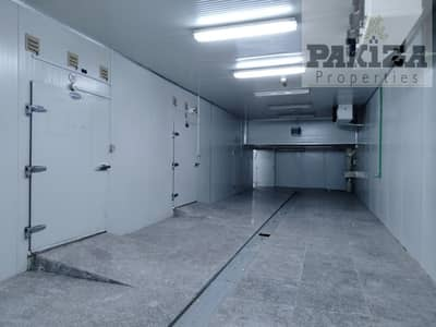 مستودع  للايجار في القوز، دبي - Lowest Price for 4800 Sqft Tax Free Cold Storage Warehouse |Centrally Located