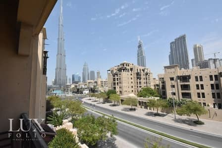 1 Bedroom Apartment for Sale in Old Town, Dubai - OT Specialist | Study |Full Burj View |