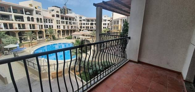 1 Bedroom Flat for Rent in Jumeirah Village Circle (JVC), Dubai - Pool View 1BHK | Huge Balcony | Grab Now Only @40K