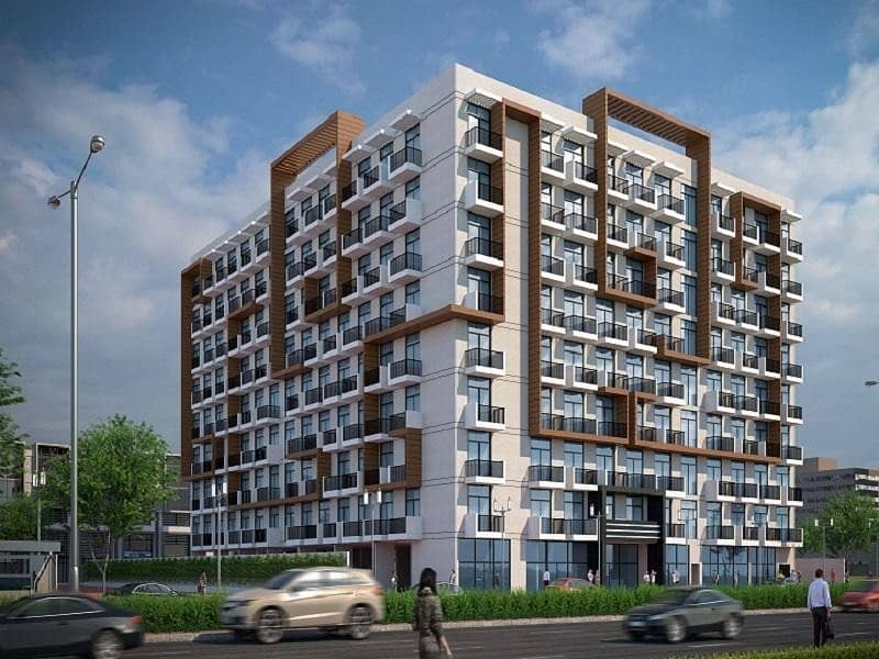 15 1 Bedroom  Apartment For Sale  In Arjan | 5 Years | Payment Plan With 1% Monthly Pay
