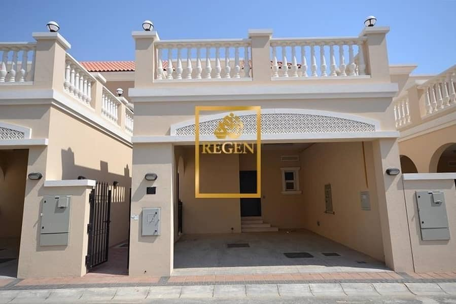 Two Bedroom Hall Nakheel Townhouse For Sale in District 12