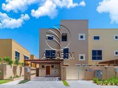تاون هاوس 4 غرف نوم للايجار في حدائق الراحة، أبوظبي - Move-in Ready! Garden   Clean and Well Maintained
