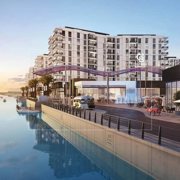 Spacious 2br Apartment| Waterfront Living in Yas Island