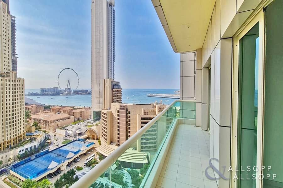 Dubai Eye View | Close To Beach | 2 Beds