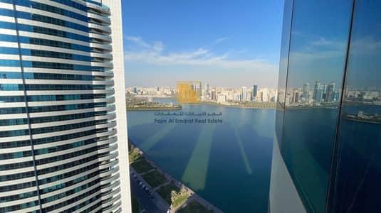 2 Bedroom Apartment for Rent in Al Majaz, Sharjah - Luxury 2 BHK | Al Buhaira Corniche | Blue Tower