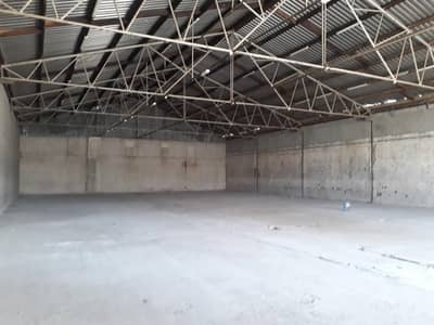 Warehouse for Rent in Industrial Area, Sharjah - 7500 SQFT/ONLY Storage/LOWEST rent/Prime Location !!