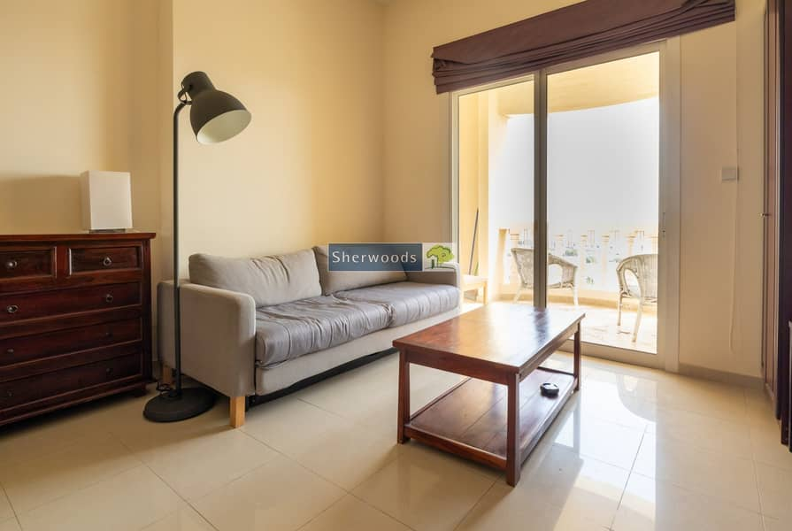 2 Furnished Studio | Lagoon and Golf course view