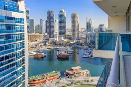 2 Bedroom Apartment for Rent in Dubai Marina, Dubai - Fully Furnished | Spacious | Stunning Marina View