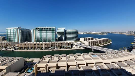 فلیٹ 4 غرف نوم للايجار في شاطئ الراحة، أبوظبي - Panoramic Sea View l 4BR Apt + Maid's Room