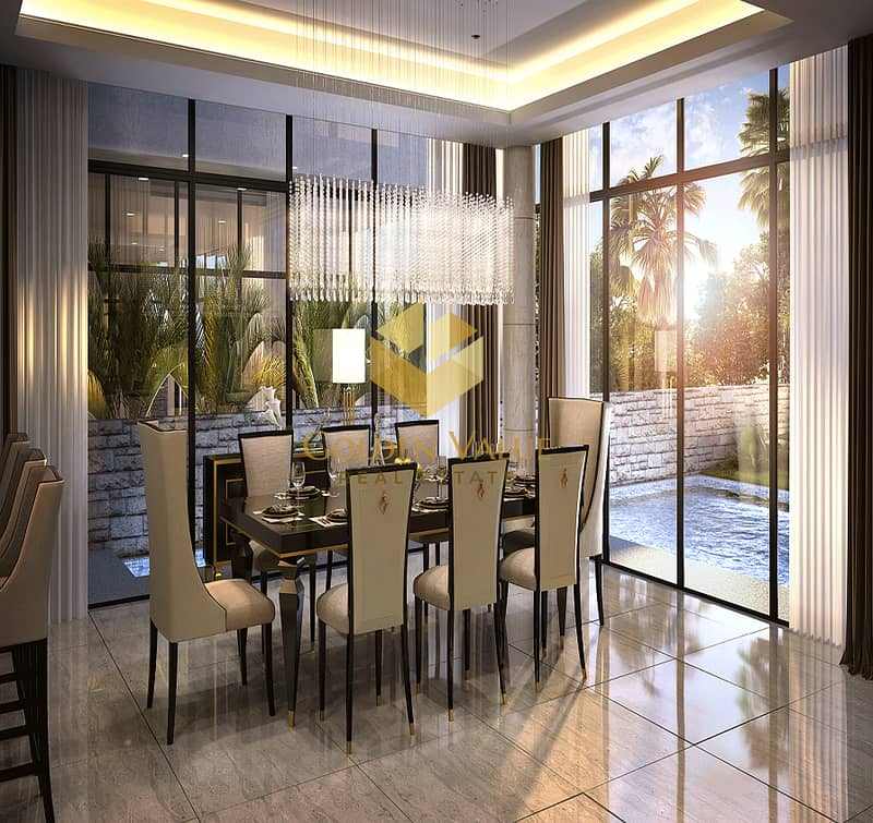 20 Luxury life style - 5  Master bedrooms Villa  - Easy Instalment - Amazing View