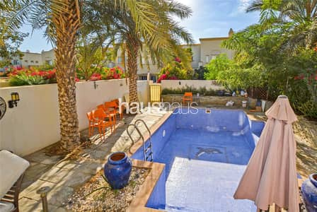 3 Bedroom Villa for Rent in The Springs, Dubai - Private Pool | Extended | Type 3M | Available Now