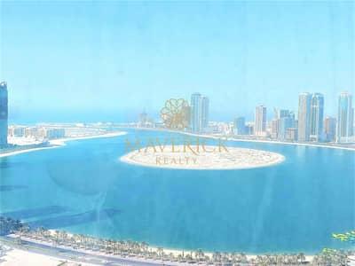 شقة 3 غرف نوم للايجار في التعاون، الشارقة - Sea View 3BHK | 45 Days Free | Gym+Pool | 6Chqs