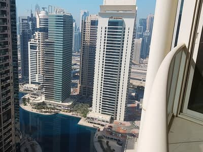 1 Bedroom Flat for Rent in Jumeirah Lake Towers (JLT), Dubai - Fully Furnished | Lake and Sunset View | High Floor