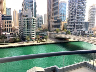 2 Bedroom Apartment for Rent in Dubai Marina, Dubai - From 10 March - Marina View - Closed Kitchen