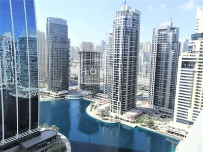 2 Bedroom Apartment for Rent in Jumeirah Lake Towers (JLT), Dubai - Full Lake View | Spacious 2BR  | in Gold Crest views 1