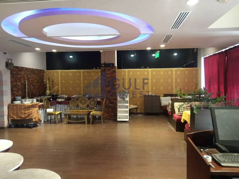 2 Fully fitted and furnished restaurant for rent in JLT (DMCC) metro station