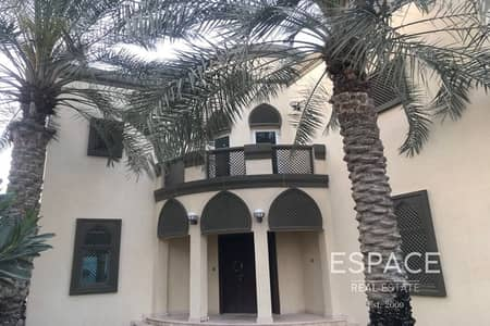 5 Bedroom Villa for Rent in Jumeirah Park, Dubai - Extended 5 Bedroom Villa in Jumeirah Park