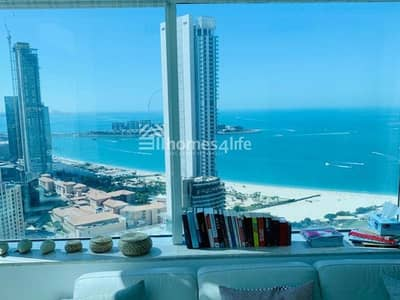 1 Bedroom Flat for Rent in Dubai Marina, Dubai - FULL SEA VIEW 1 BEDROOM APARTMENT FOR RENT IN DUBAI MARINA