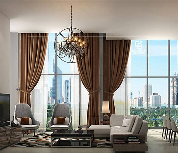 2 Luxurious 1Bedroom Apartment for sale in Park Gate Res.