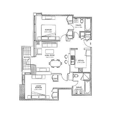 10 Vacant | One Bed + Study | Keys In Hand