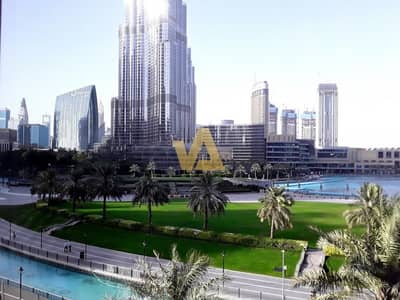 3 Bedroom Flat for Rent in Downtown Dubai, Dubai - FACING BURJ AND FOUNTAIN|3 BR+M|UPGRADED|CH-FREE