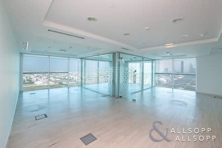 Office for Rent in Sheikh Zayed Road, Dubai - Fitted Partitioned | High Floor | Great Views