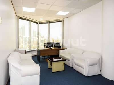 Office for Rent in Al Khalidiyah, Abu Dhabi - Classy And Modern  Furnished Office Space
