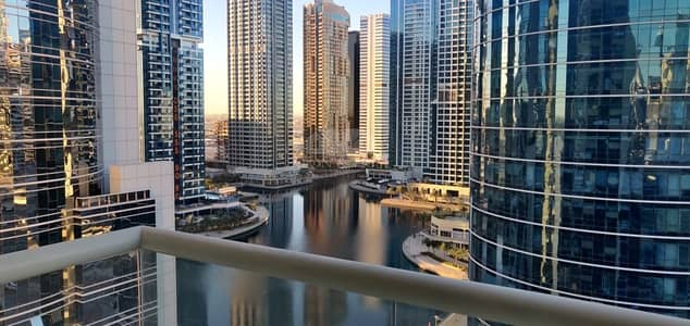 2 Bedroom Apartment for Rent in Jumeirah Lake Towers (JLT), Dubai - Spacious close to metro lake view ready to move in