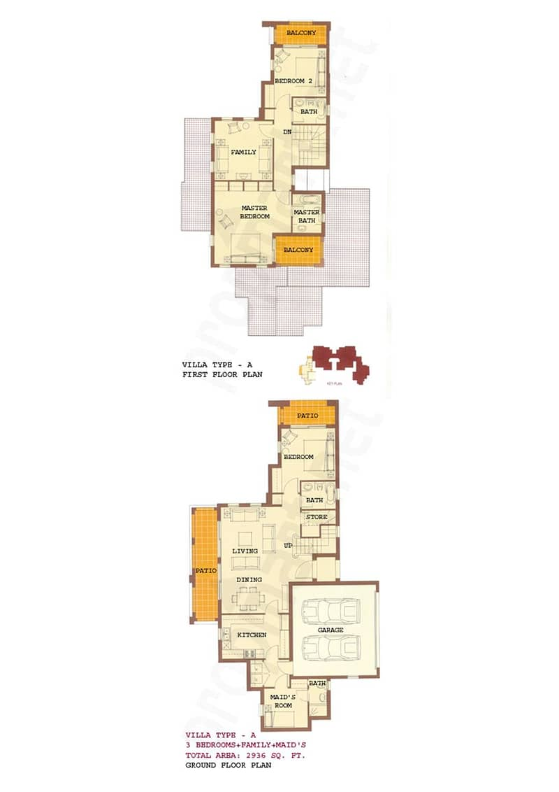 10 A Type | 3 Beds | 11000 Sq. Ft. | Vacant