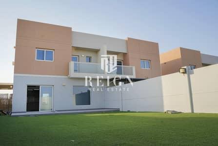 فیلا 3 غرف نوم للايجار في السمحة، أبوظبي - Corner and Single Row Villa with Landscaped garden