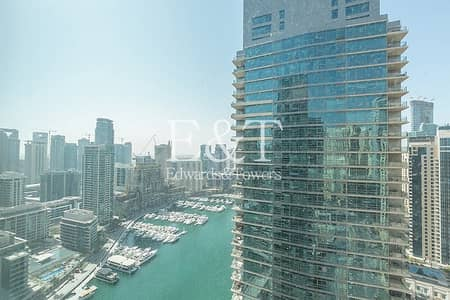 1 Bedroom Apartment for Rent in Dubai Marina, Dubai - Available 21st March|High Floor|Full Marina View
