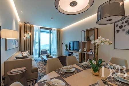 فلیٹ 1 غرفة نوم للبيع في جميرا بيتش ريزيدنس، دبي - City and Marina View | High Floor | Serviced