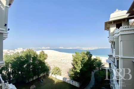 2 Bedroom Apartment for Rent in Palm Jumeirah, Dubai - 2 Bedroom | Sea Views | Pool & Beach Access