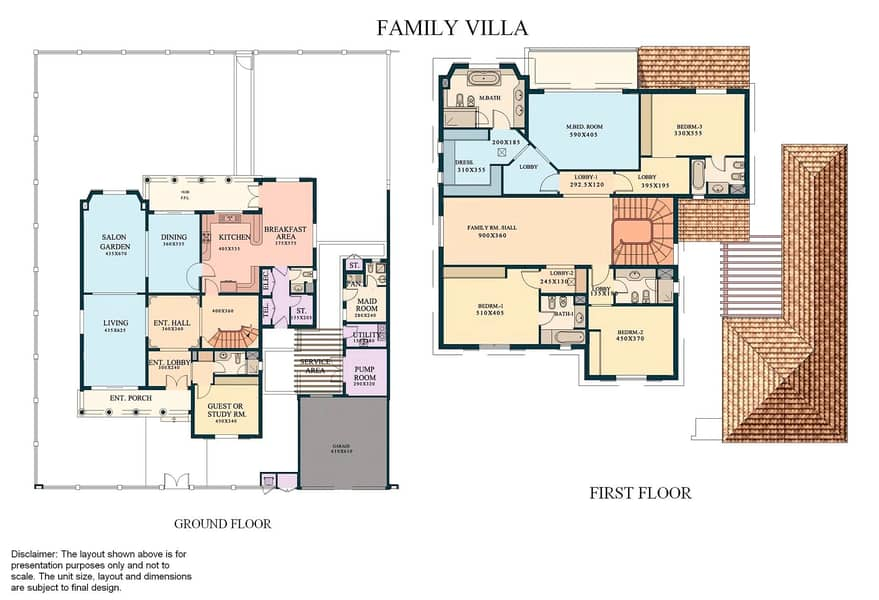 10 5 Bed Family Villa | Green Community West