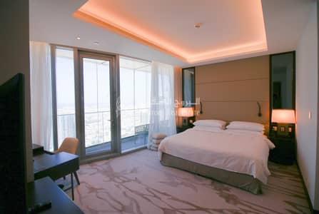 شقة 4 غرف نوم للايجار في وسط مدينة دبي، دبي - Big Living area| Sea View | Four Bedroom For Rent in Sky View Tower 1