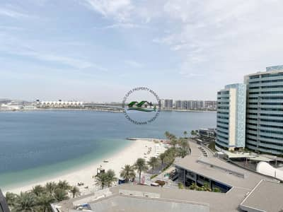 3 Bedroom Flat for Rent in Al Raha Beach, Abu Dhabi - Fascinating 3BHK+Maidroom  Apartment In Muneera  with Sea View and All Amenities!