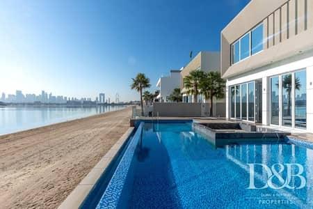 فیلا 5 غرف نوم للبيع في نخلة جميرا، دبي - Great Location High Number Custom Built Dream Home