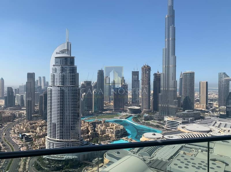 Burj Khalifa and Fountain view High End 3BR