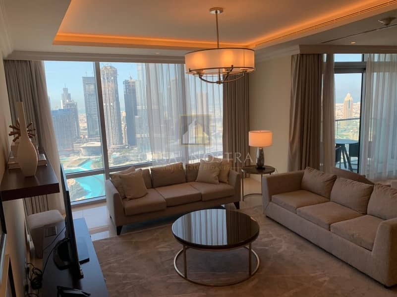 2 Burj Khalifa and Fountain view High End 3BR